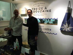 Une sympathique association entre le marketing à la française et les bons mets de la mer