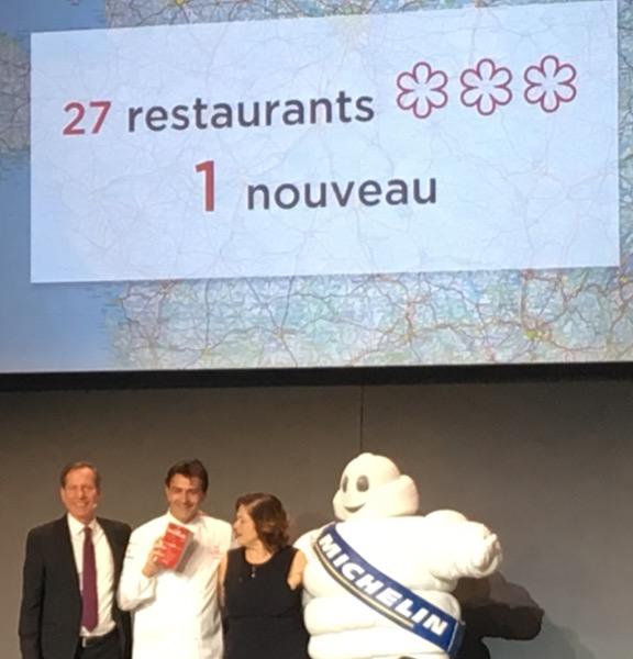 Le 1947 est l'unique restaurant triplement étoilé pour 2017