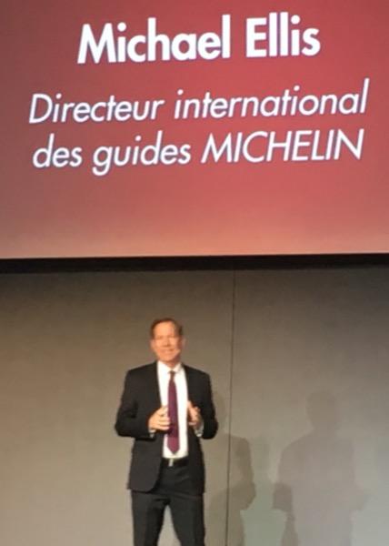 Michale Ellis, Directeur International des Guides Michelin