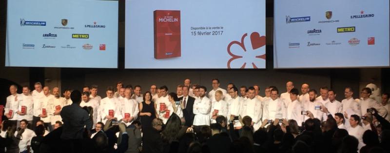 Un joli panel de 70 restaurants étoilés dans l'édition 2017 du Guide Michelin